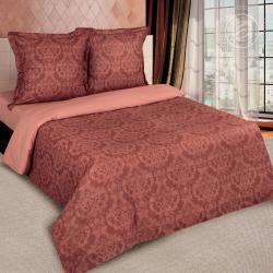 """Купить постельное белье поплин гладкокрашеный """"Византия коричневая"""" в Нижнем Новгороде"""