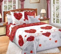 Купить постельное белье из бязи «Вечная любовь»
