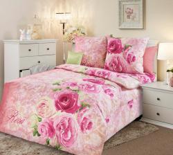 Постельное белье из бязи «Аромат розы 1» (1.5 спальное)  ТМ ТексДизайн